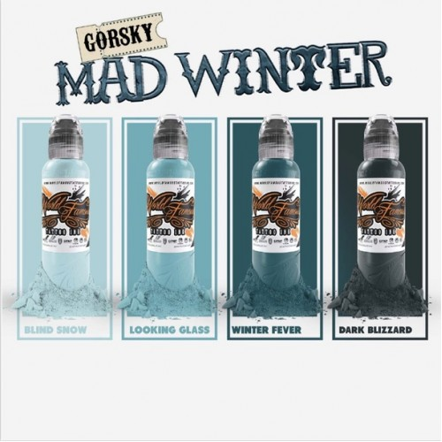 Set 4 tusuri World Famous Damian Gorski Mad Winter 30ml