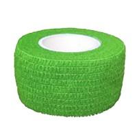 Bandaj elastic Pro Wrap 2.5cm x 4.5m Verde