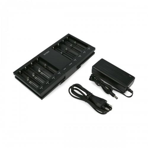 Incarcator Effest LUC V8 cu 8 sloturi de incarcare pt bateriile Inkjecta Flite X1