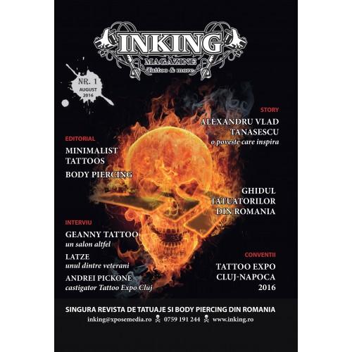 Revista Inking Magazine Tattoo & More nr. 1