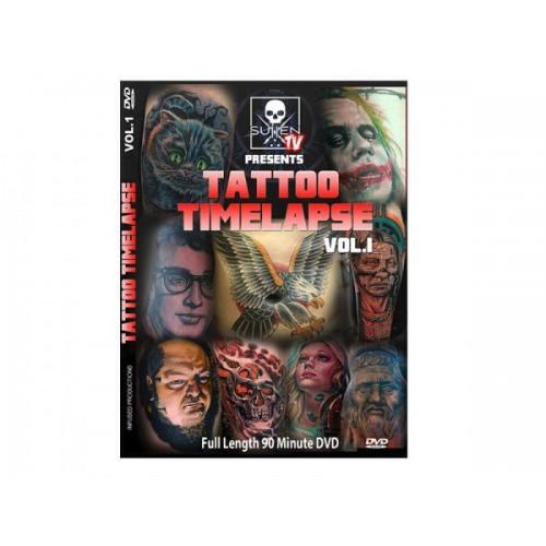 DVD Sullen TV Tattoo Time Lapse Vol. 1
