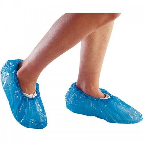 Acoperitori papuci albastrii de unica folosinta pt dispenser Model 2 set 100 buc