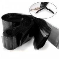 Invelitoare clipcord set 125 buc - Black