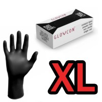 Manusi Latex Negre Glovcon XL