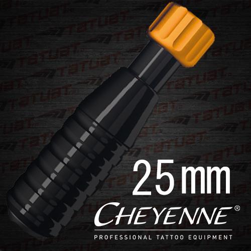 Maner Cheyenne Hawk 25mm NEGRU