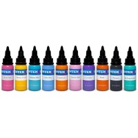 Set Intenze 10 culori Pastel 30ml