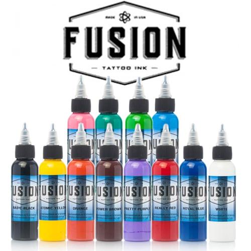 Set Fusion 12 tusuri de baza 30ml