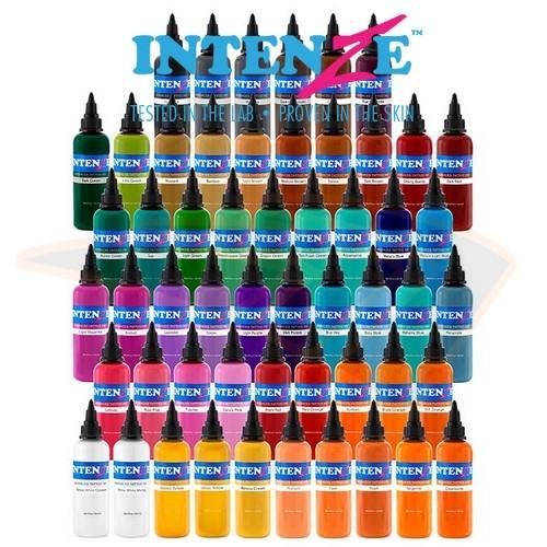 Set Intenze 54 culori Basic 30ml