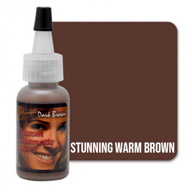 Tus makeup Stunning Warm Brown 15ml (Dark Brown)