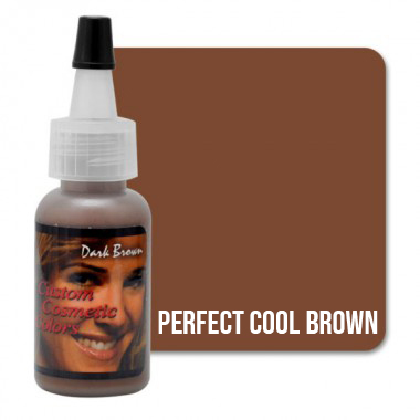 Tus makeup Perfect Cool Brown 15ml (Dark Ash)