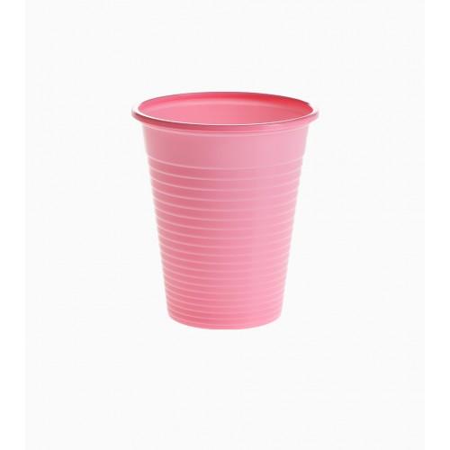 Set 100 pahare unica folosinta Rose