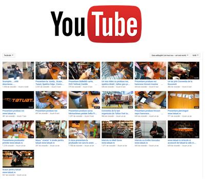 Pagina oficiala youtube.com